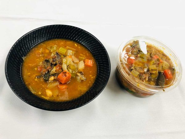 Beef and Vegetable Minestrone Soup