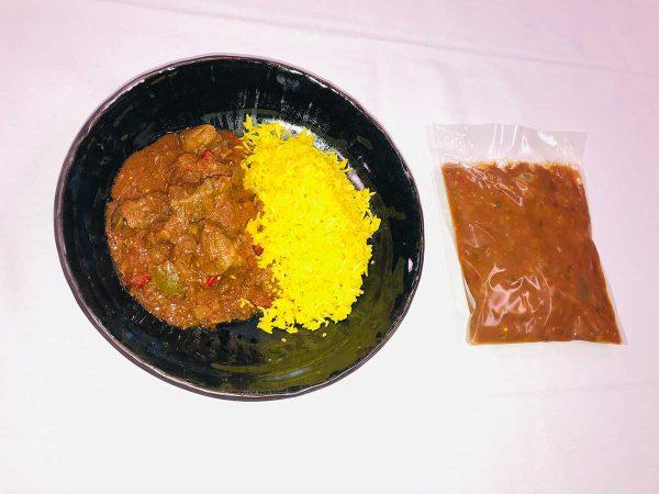 Lamb and Capsicum Curry