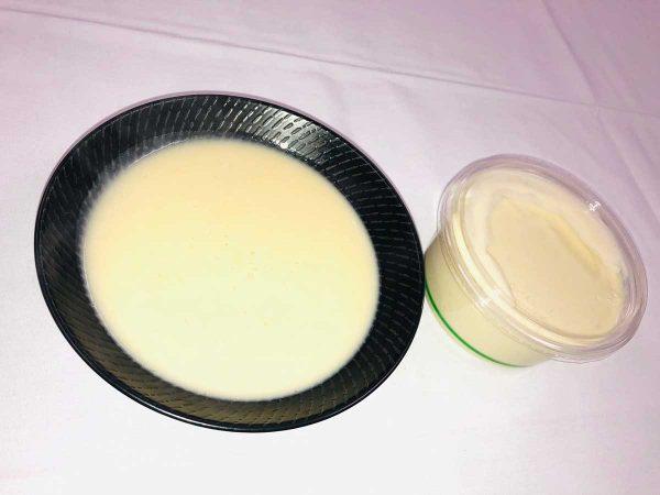 Potato, Leek and Brie Soup