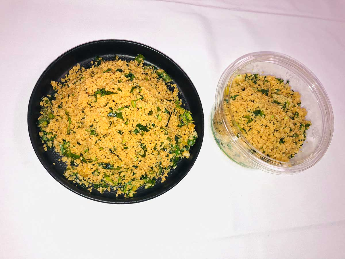 Spiced Citrus and Herb Cous Cous
